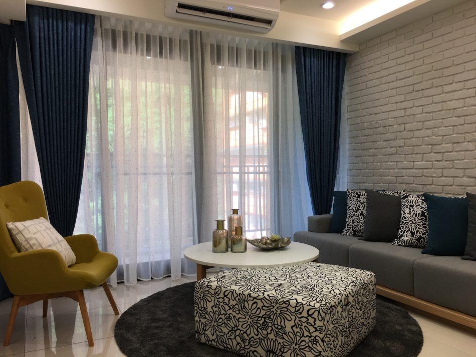 雙層窗簾 軟質窗簾 訂製窗簾 蛇形簾