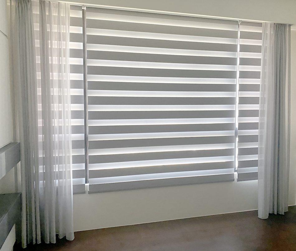 雙層窗簾 調光捲簾 紗簾 硬質窗簾 軟質窗簾