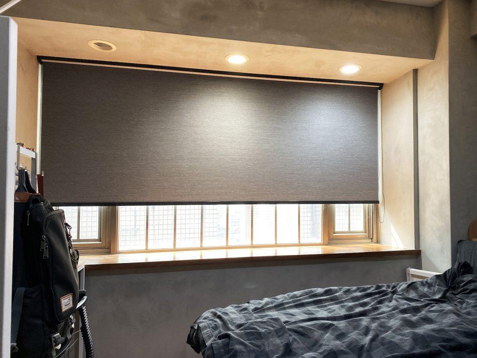 臥室窗簾 臥室設計 窗台設計 遮光窗簾 遮光捲簾
