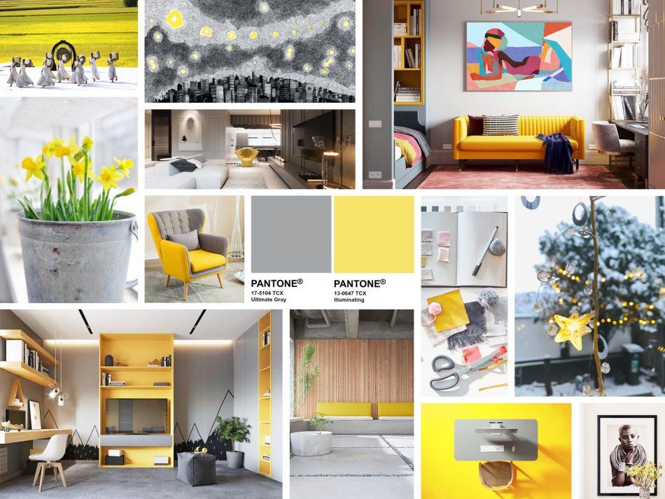 Pantone Color 2021 年度代表色 Ultimate Gray 極致灰 Illuminating 亮麗黃 trend 流行顏色