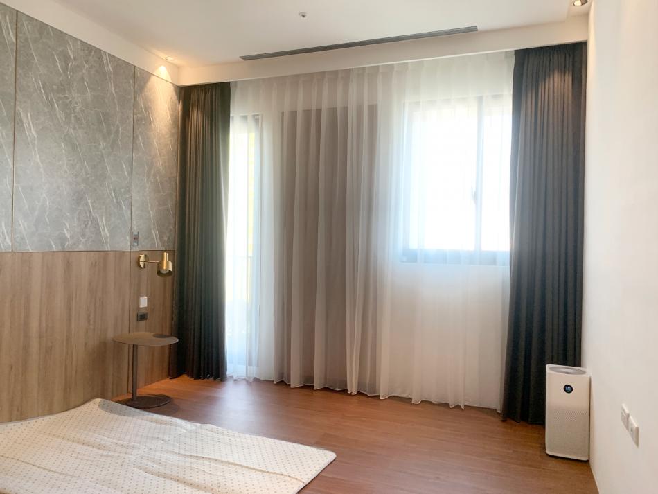 臥室窗簾 臥室設計 遮光窗簾 紗簾