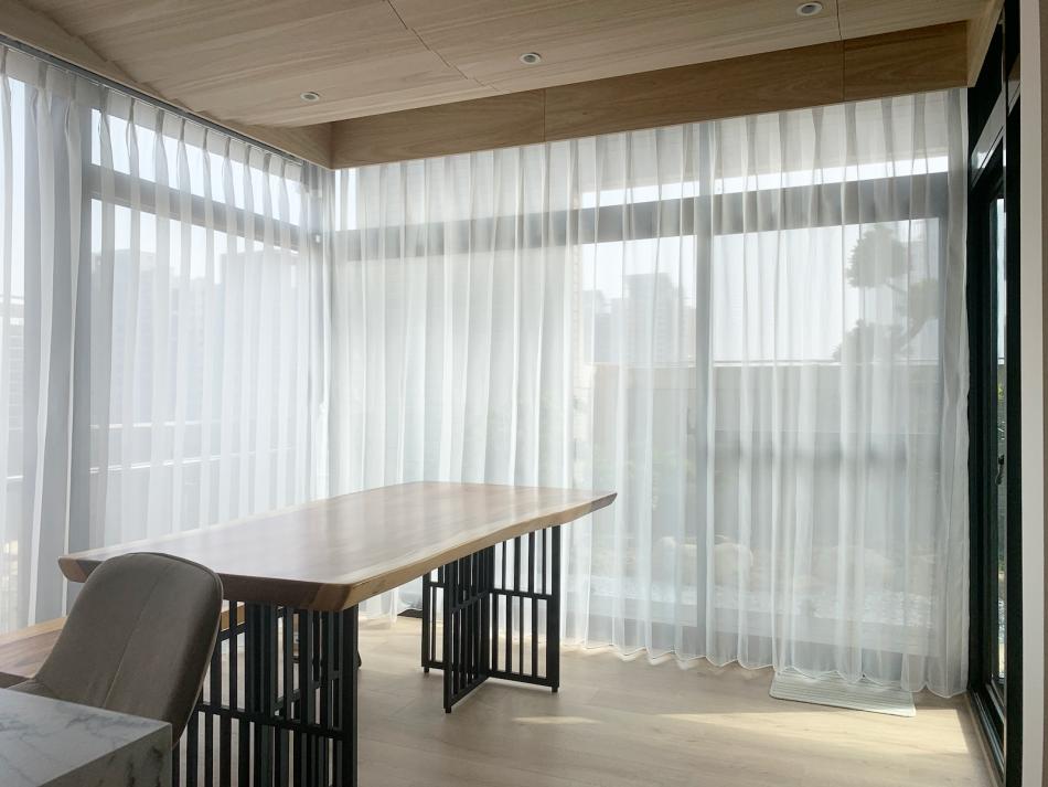工作室窗簾 紗簾 透光窗簾 採光窗簾
