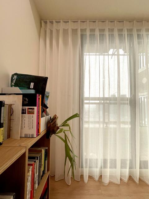 雙層窗簾 窗簾搭配 布紗簾 訂製紗簾