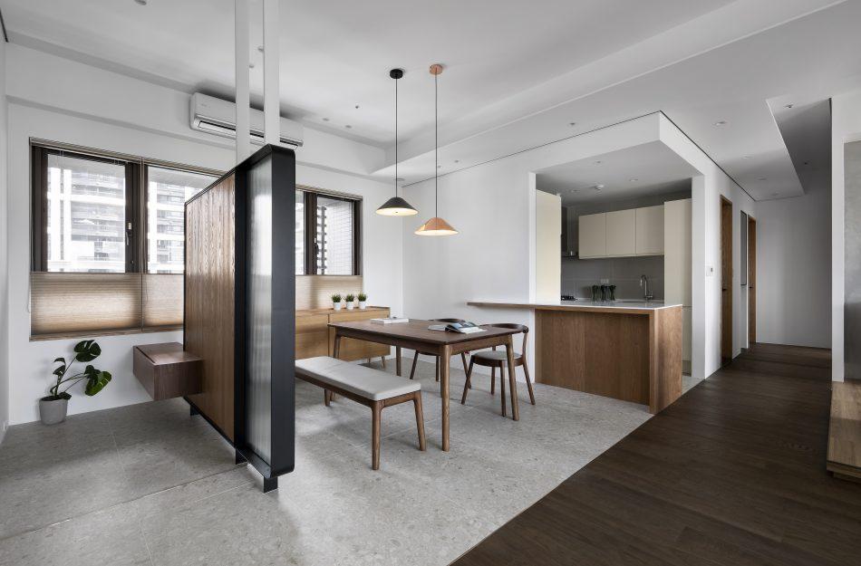 客廳窗簾 風琴簾 採光窗簾 現代風 拿鐵色