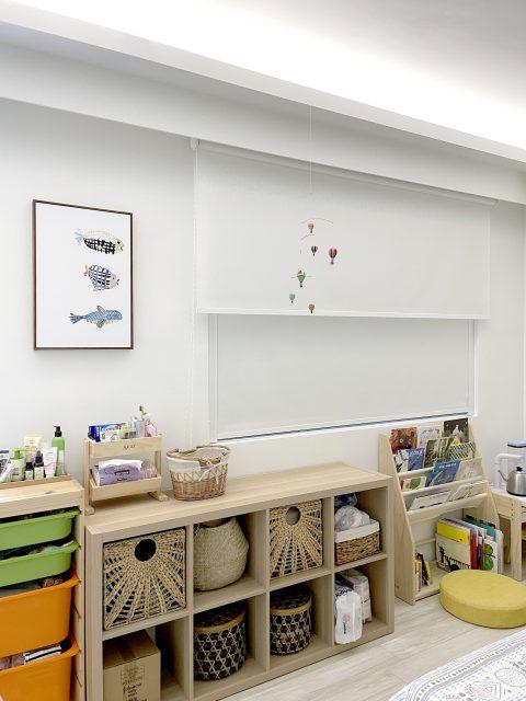 電動窗簾 雙層窗簾 遮光捲簾 兒童房 邊導軌 遮光側導軌