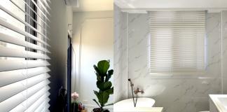 百葉窗簾 防潮窗簾 白色設計 現代美式 台北窗簾