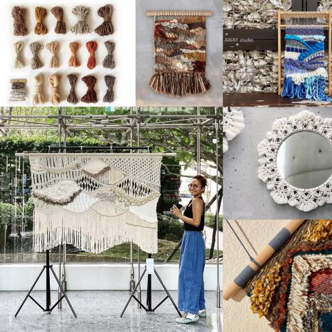 週年慶 窗簾優惠 花邊結 編織藝術 手工藝品